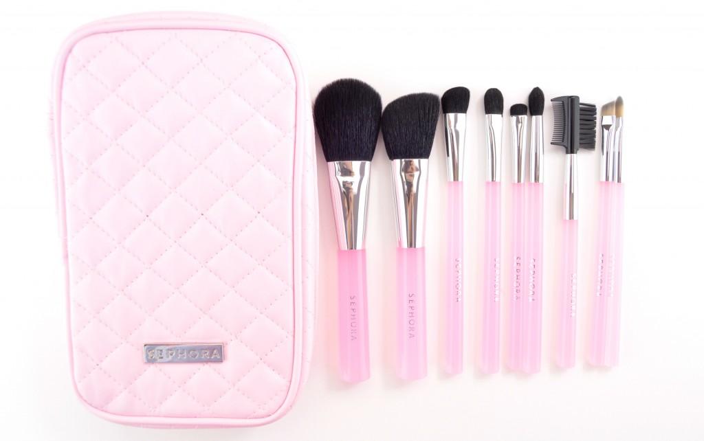 Sephora Collection Pink Brush Set  (2)