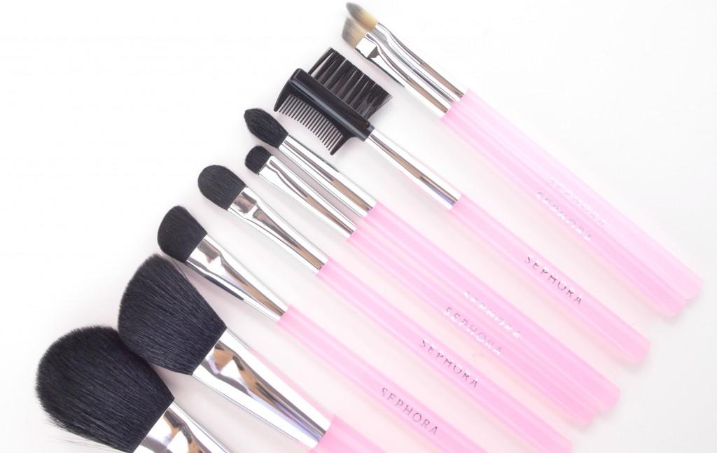 Sephora Collection Pink Brush Set  (3)