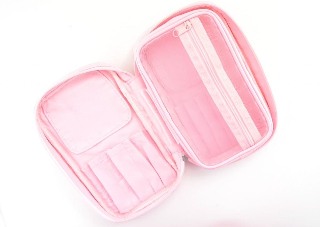 Sephora Collection, Pink Brush Set, Makeup case, makeup bag, cosmetic pouch, pink case
