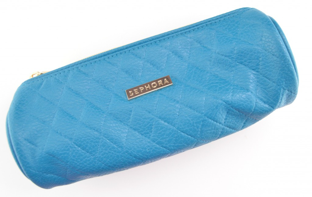 Sephora Collection Teal Quilted Bag