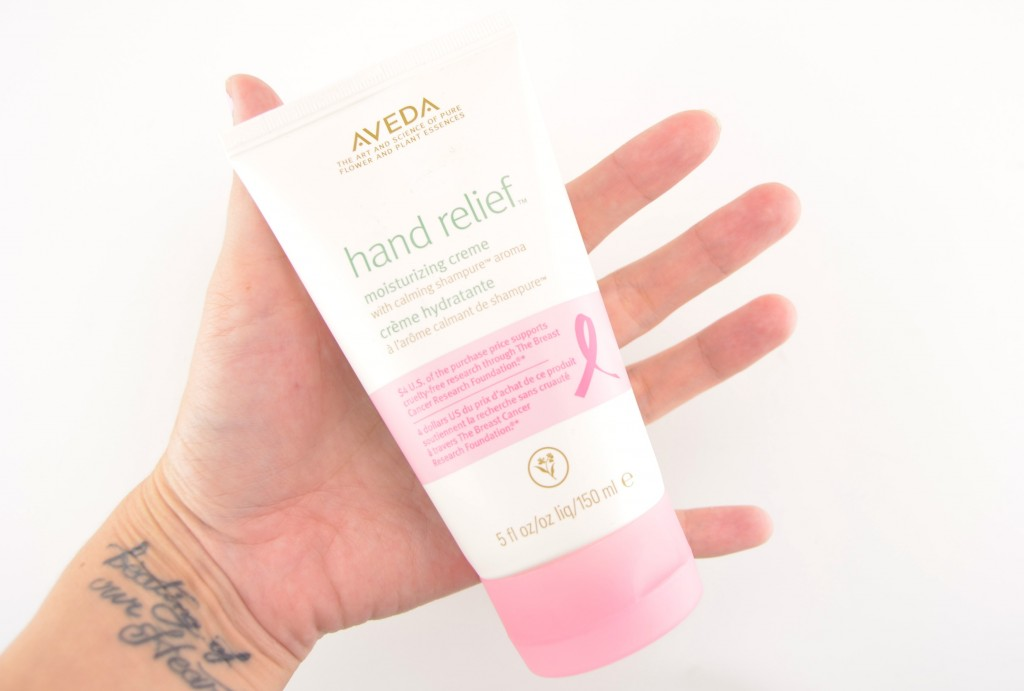 Aveda, Limited Edition, Hand Relief, Shampure Aroma, Aveda Lotion, hand lotion, breast cancer lotion, aveda cancer, pretty in pink  (2)