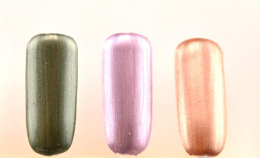 Avon Metallic Effects, Nail Enamel, nail polish swatch, green nail polish, purple polish, gold nails, nail polish blogger, canadian bloggers, avon polish, cheap nails