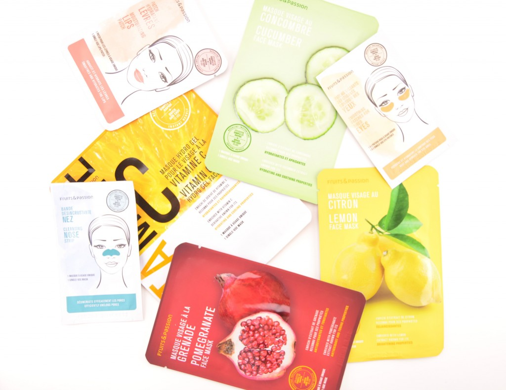 Fruits & Passion Face Mask Review