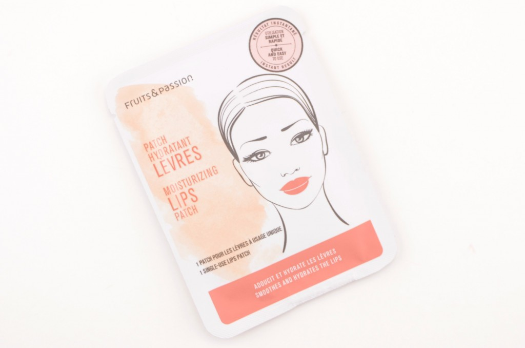 Fruits & Passion, Moisturizing Lips Patch, lip mask, lip patches, kissable lips, softer lips, beauty blog, canadian blogger