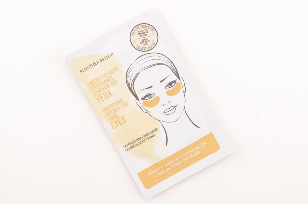 Fruits & Passion, Smoothing Patches, Tired Eyes, face mask, skin treatment, bags, puffy eyes, dark circles