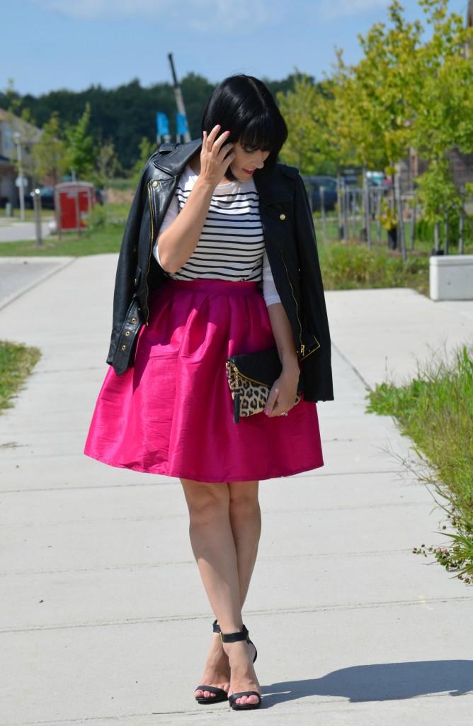 Hot Pink Skirt (2)