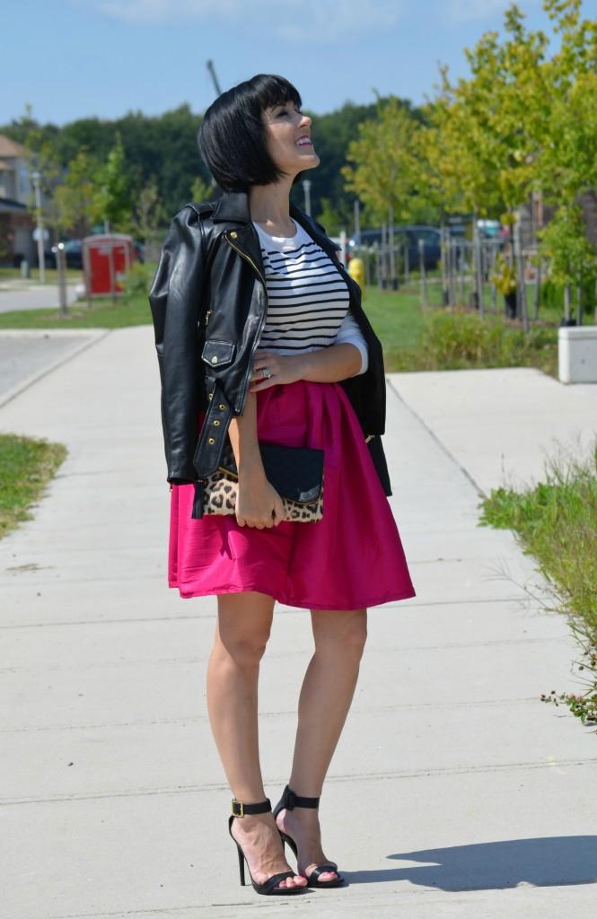 Hot Pink Skirt (3)