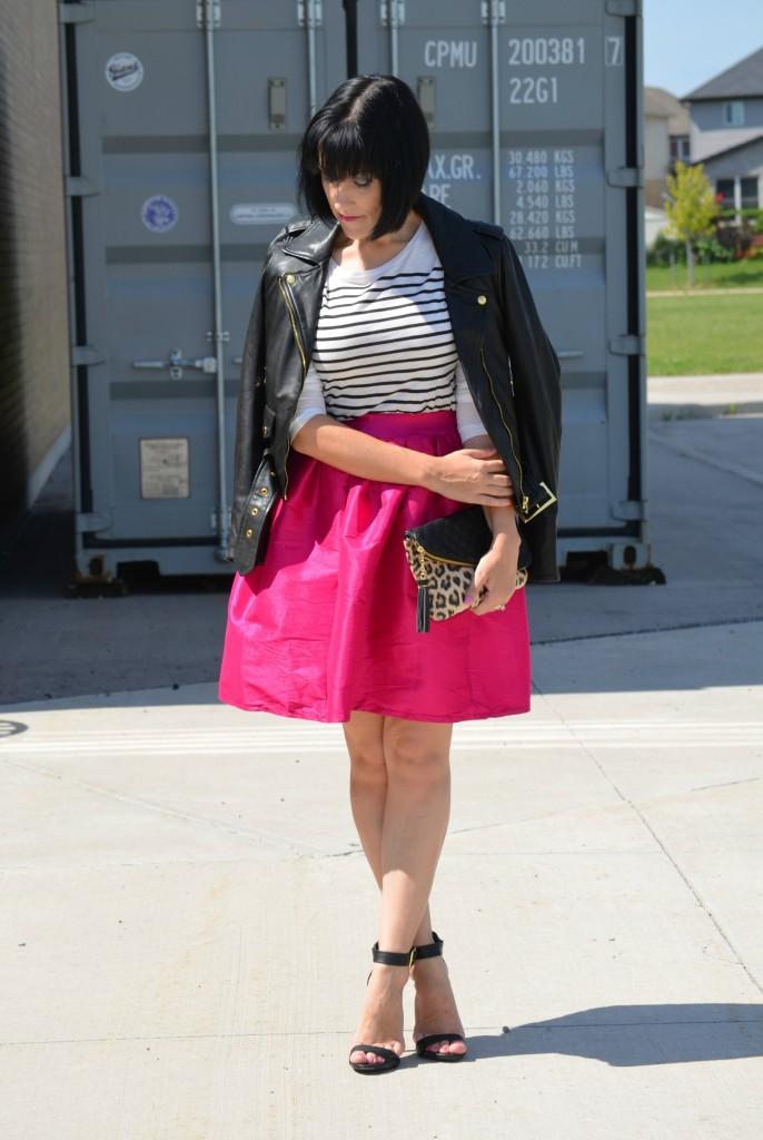 Hot Pink Skirt (4)