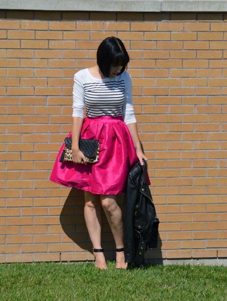 Hot Pink Skirt (5)