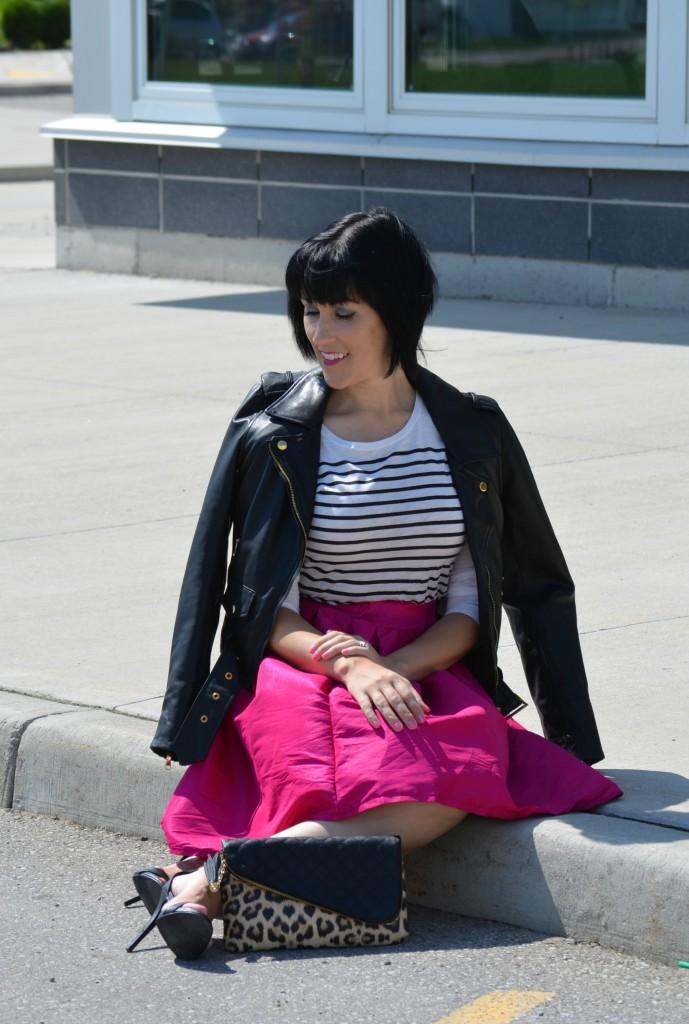 Hot Pink Skirt (7)