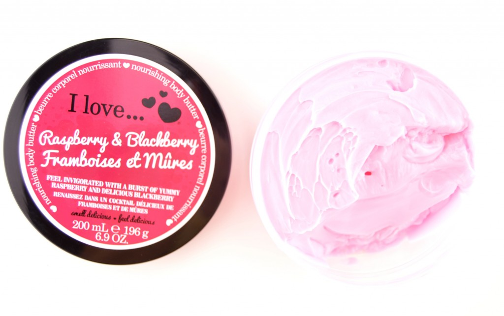 I Love Raspberry & Blackberry,  Body Butter, hand cream, body lotion, lotion, Makeup Blog, Canadian Beauty Blogs, The Pink Millennial, Ontario Blog, Makeup code, business casual for women, summer looks, makeup, cosmetics