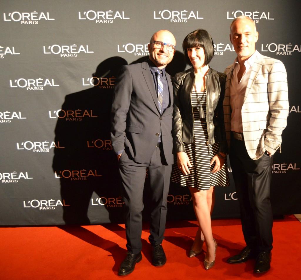 L'Oreal Paris, Eddie Malter, Eric Del Monaco, haircare, red carpet, TIFF, TIFF 2014, 2014