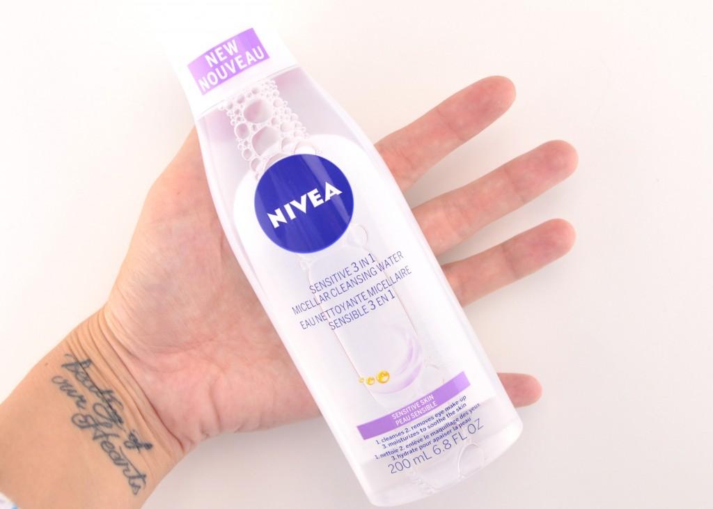 NIVEA Sensitive 3 in 1 Micellar Cleansing Water