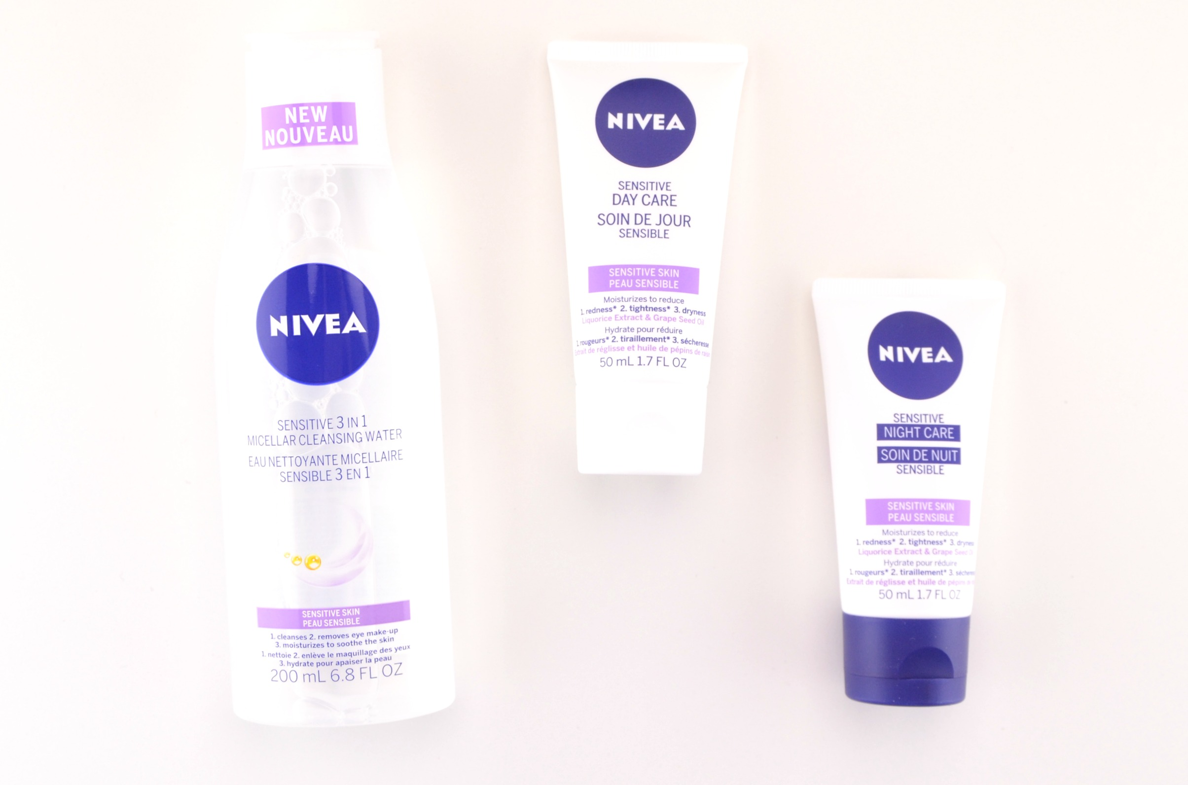 NIVEA Sensitive Face Care Line Review