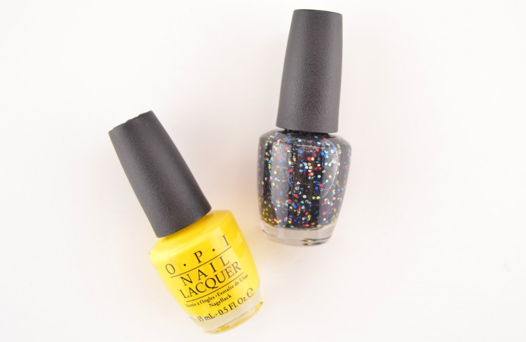 OPI Peanuts Halloween 2014 Collection, opi, peanuts, halloween nail polish, peanuts collection, opi nail polish, black and yellow