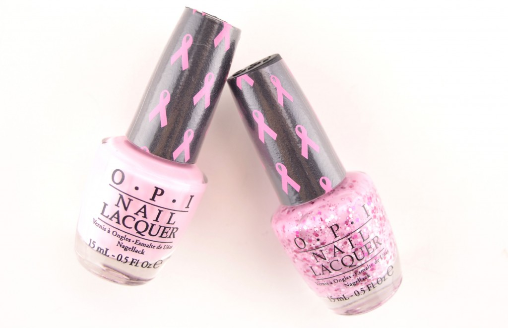 OPI Pink of Hearts 2014, OPI nail polish, pink nail polish swatch, glitter polish, breast cancer cause, opi 2014, swatch, pretty in pink