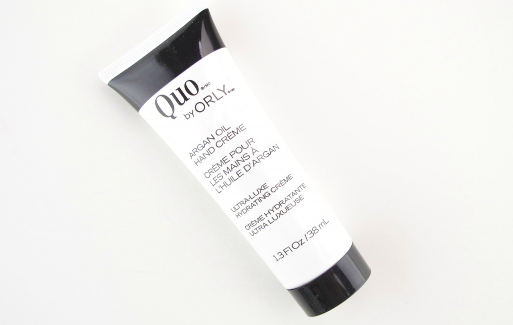 Quo by ORLY Argan Oil Hand Crème  (1)