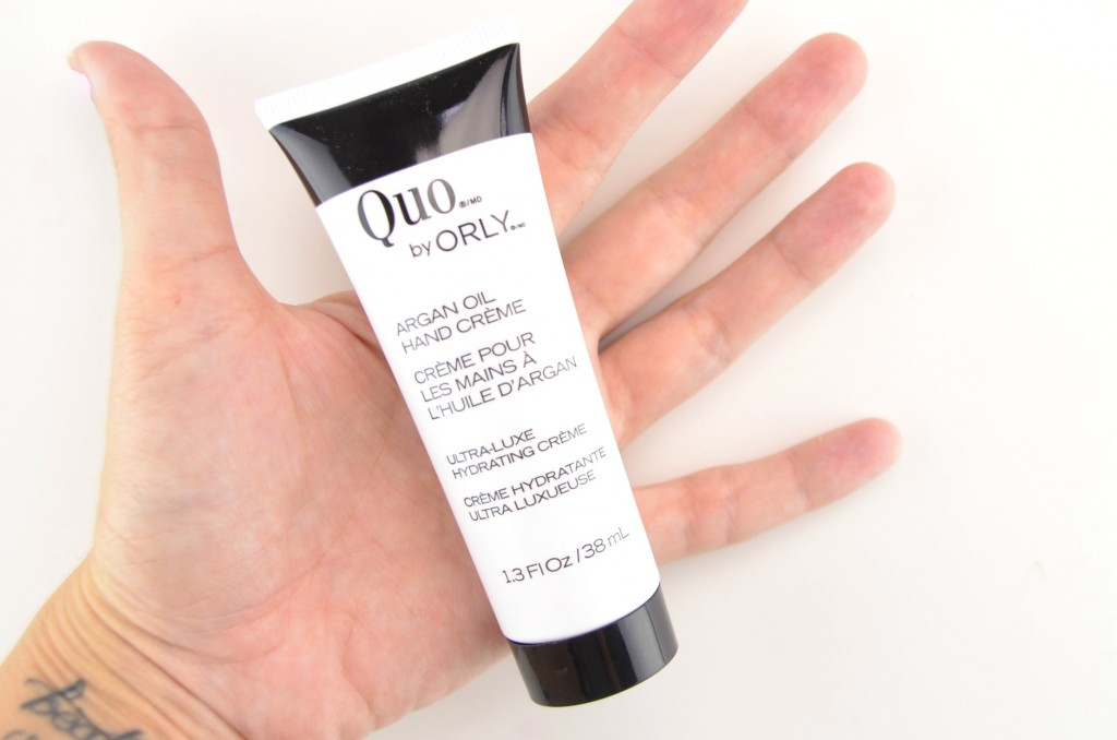 Quo by ORLY Argan Oil Hand Crème  (2)