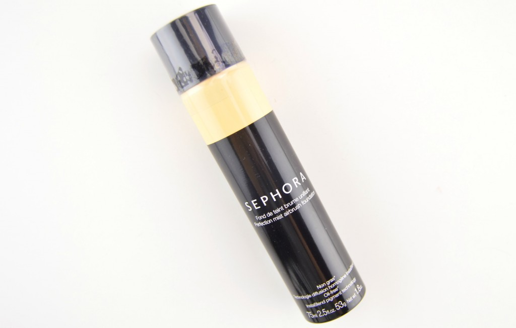 Sephora Collection Perfection Mist Airbrush Foundation Review, Sephora Collection, Airbrush, Airbrush finish, flawless foundation, foundation review, beauty blog