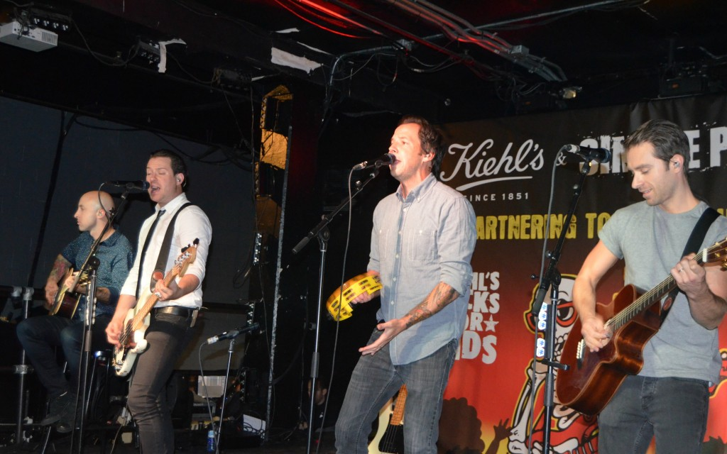 Simple Plan, Kiehl's And Simple Plan Concert , Kiehls rocks for kids, simple plan foundation
