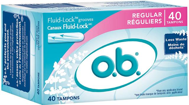 o.b. tampons, o.b.