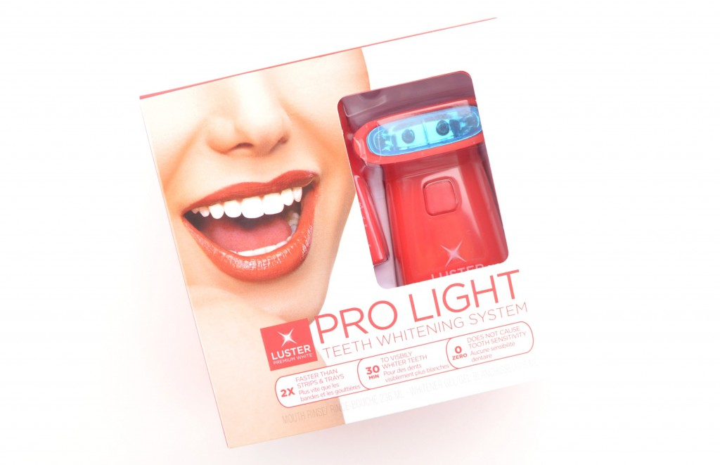 Luster Pro Light Teeth Whitening System Review
