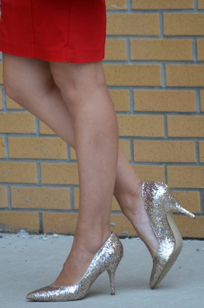 Day to Night, Outfit Ideas, Heels, Sparkle, Glitter, Heels, Denim, Sundresses, Jeans, Black And White, Colour Tee, Faux Leather