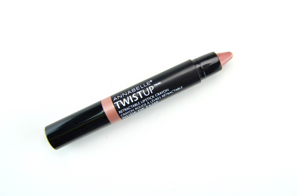 Annabelle Twist Up, Retractable Lipstick, lippie, Crayon, Metal Mix, holiday, Annabelle Twist Up Retractable Lipstick Crayon in Nude of Fame