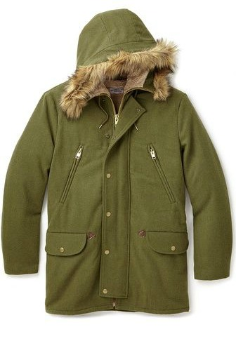 Gant Rugger Winter Parka, Gant Rugger, Winter Parka, parka, green jacket, army coat, army jacket, green jacket
