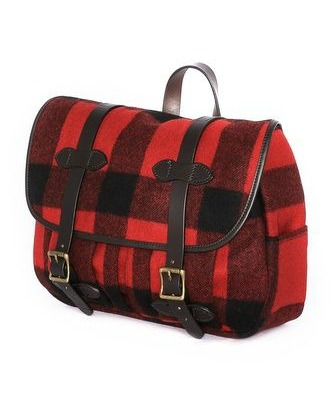 Filson Wool Medium Field Bag, Filson, Wool Medium Field Bag, red purse, man bag, checker print, male blogger