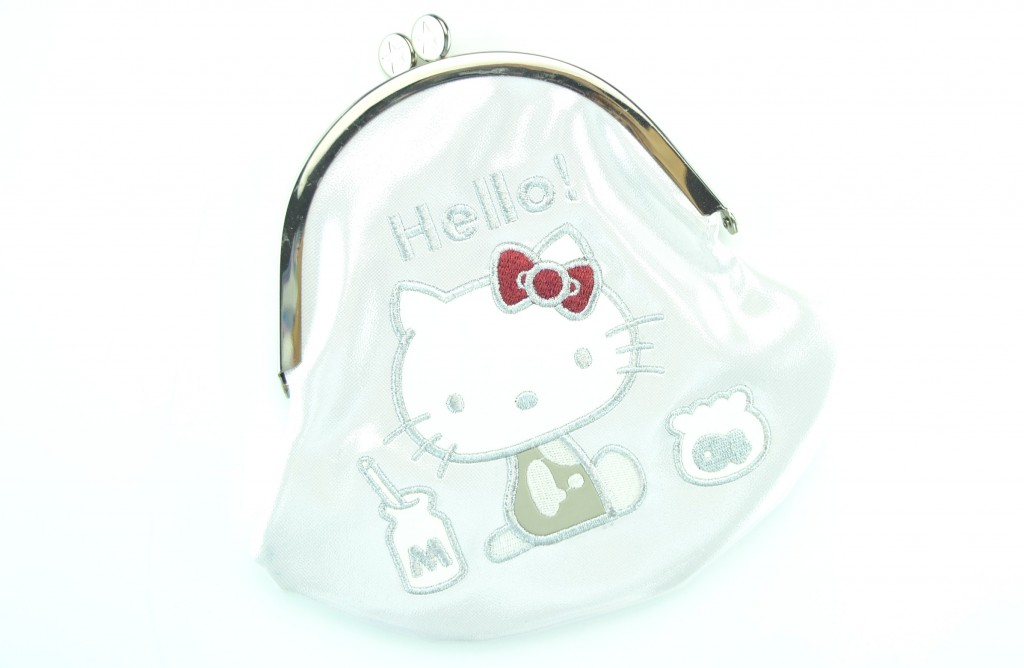 Hello Kitty, 40th Anniversary, hello kitty Collection , The Milk Money Makeup Bag , coin purse