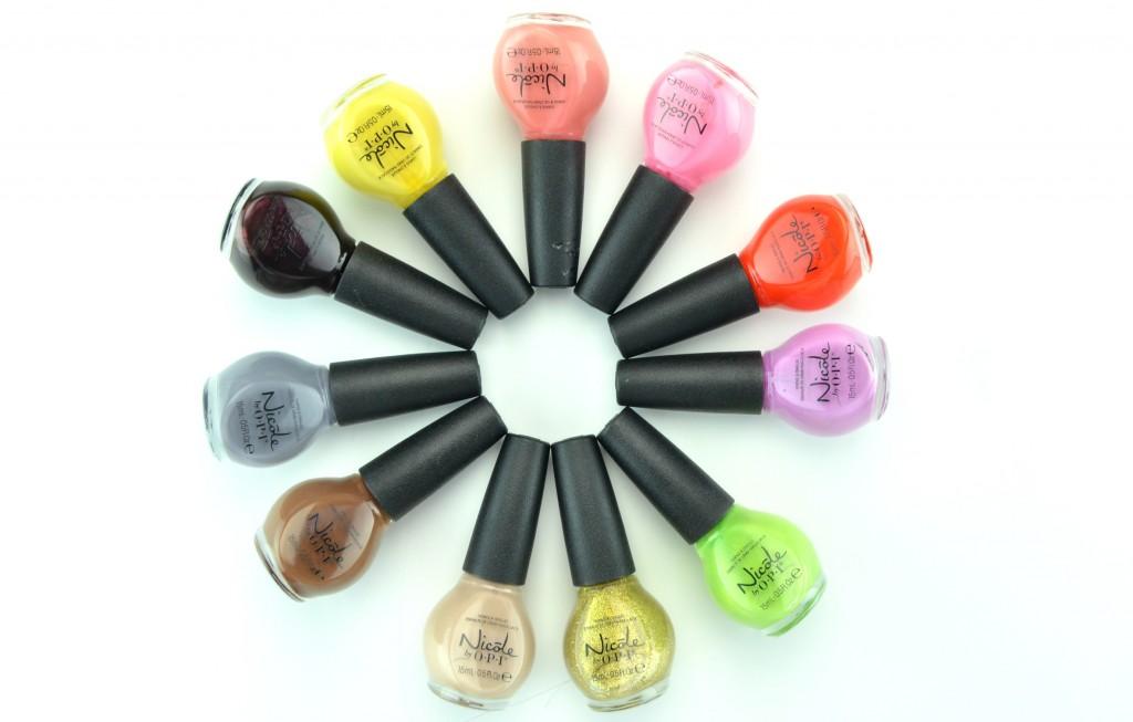 Nicole by OPI, nail polish, nail lacquer, polish, red nails, pink nail polish, opi, beauty blogger, nail blog, candian bloggers