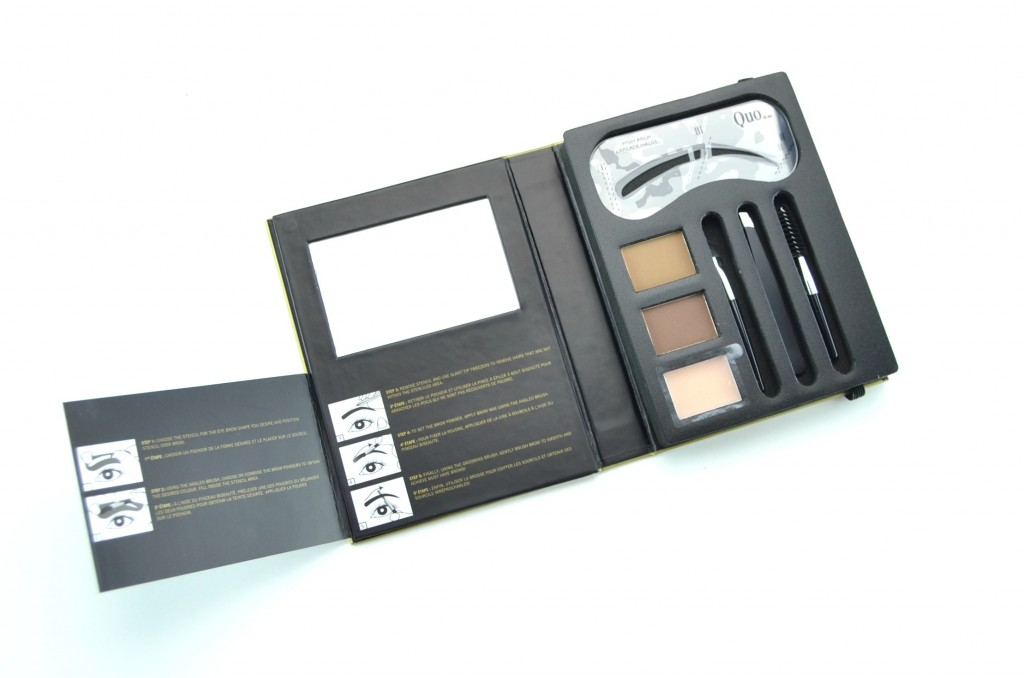 Quo Holiday, 2014 holiday collection, Quo All About The Brows Palette, brow set, brows, perfect brows, palette, beauty bloggers
