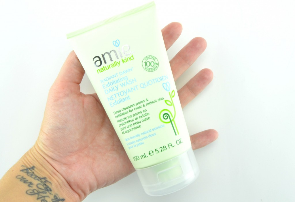 Amie Naturally Kind, Amie Radiant Dawn Exfoliating Daily Wash, amie, exfoliating wash