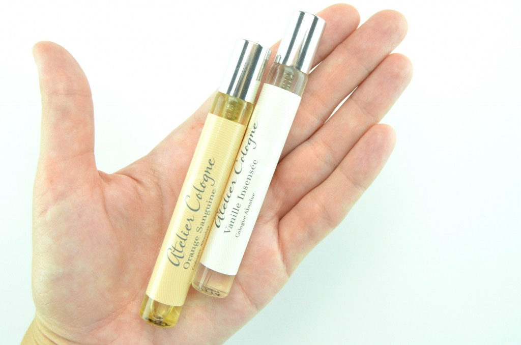 Atelier Cologne, Layering perfume, Atelier Cologne Layering Duo, Orange Sanguine, Vanille Insensée, perfume
