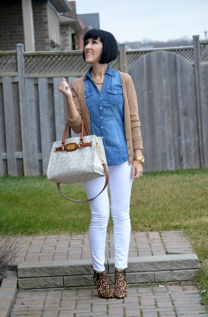 Crisp White Jeans