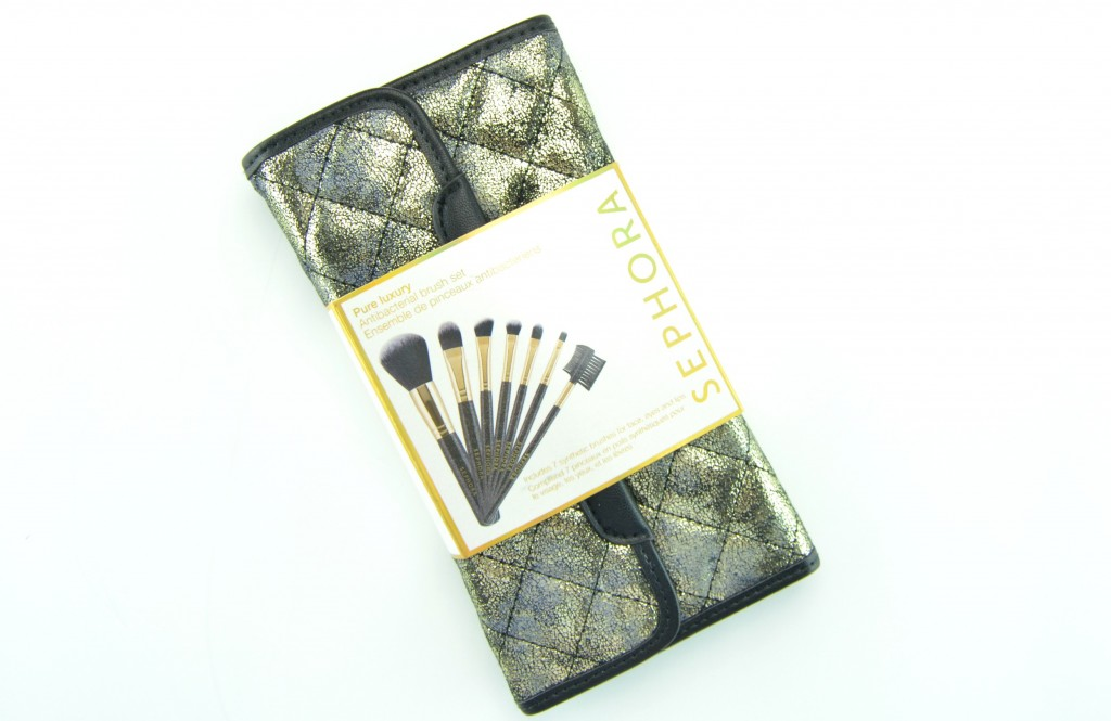 Sephora Collection Pure Luxury Antibacterial Brush Set
