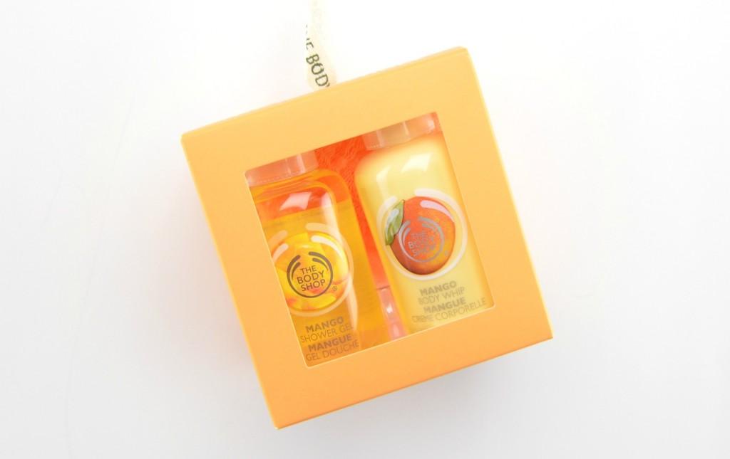 The Body Shop Mango Treats Gift Cube