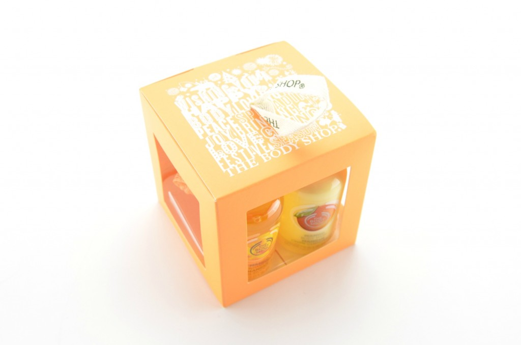 The Body Shop Mango Treats Gift Cube