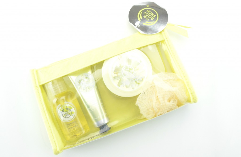 The Body Shop Moringa Beauty Bag