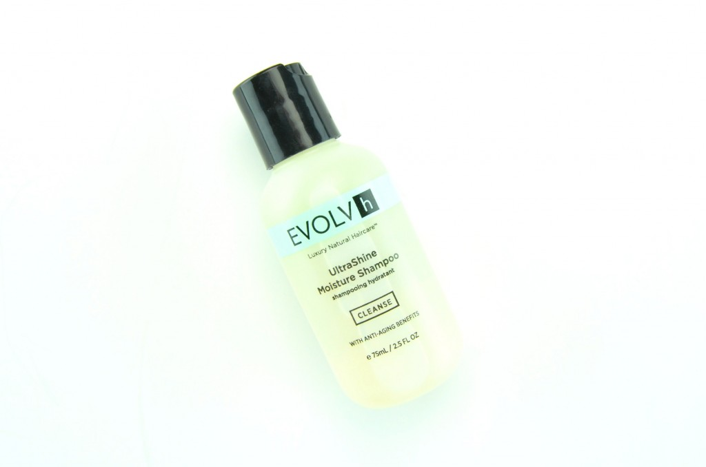 Vegan Cuts Beauty Box Subscription, Evolvh UltraShine Moisture Shampoo