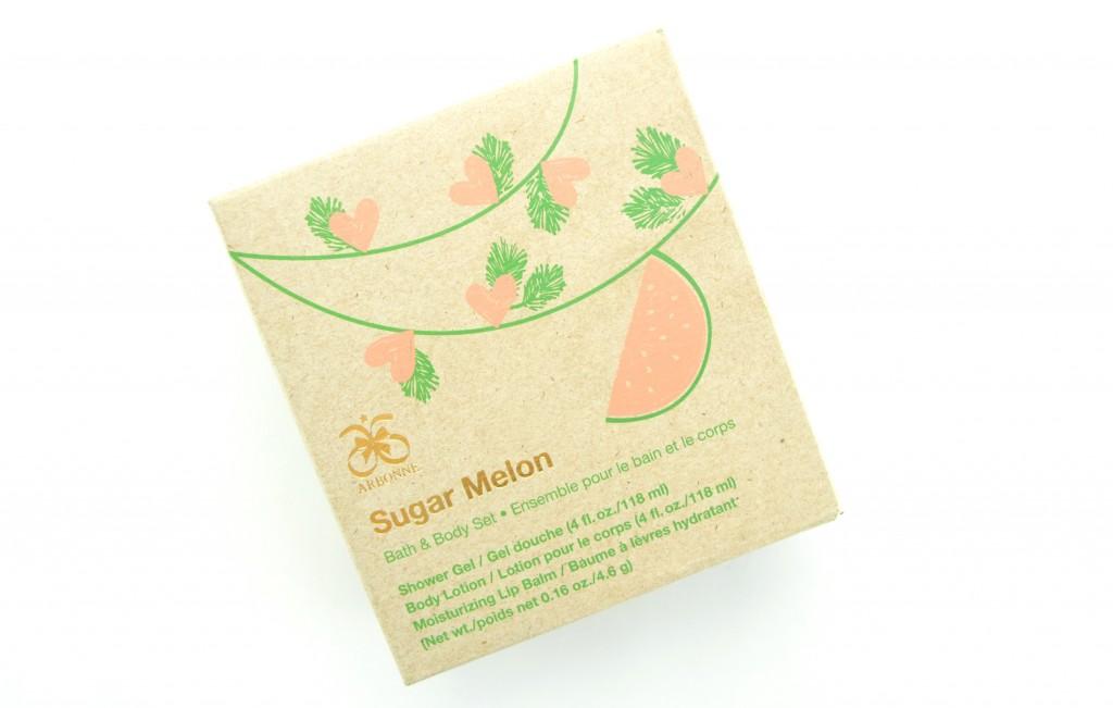 Arbonne, Sugar Melon, Bath & Body Gift Set