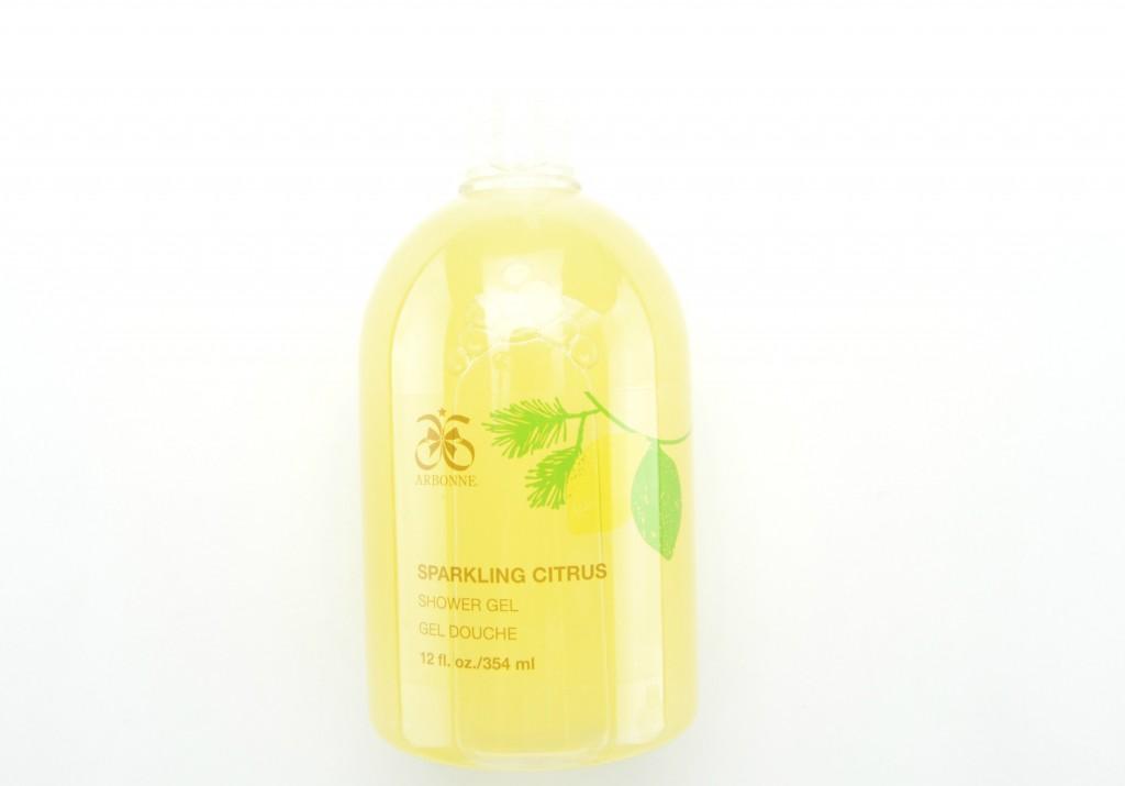 Arbonne Twinkle and Shine, Sparkling Citrus Luxury, Gift Set, Arbonne Sparkling Citrus Shower Gel
