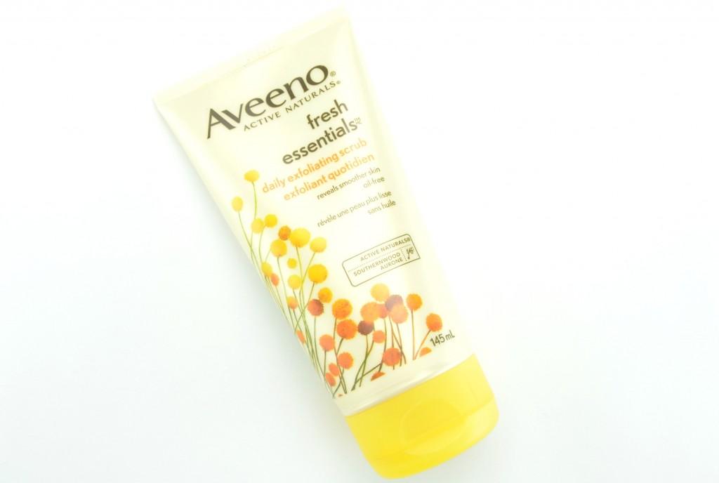 Aveeno Fresh Essentials review, Aveeno Fresh Essentials Daily Exfoliating Scrub