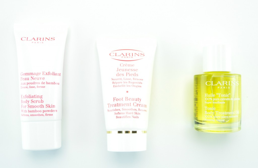 Softer feet with Clarins
