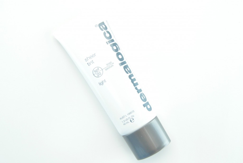 Dermalogica Sheer Tint SPF 20, sunblock, sunscreen, Dermalogica Sheer Tint, Dermalogica sunscreen