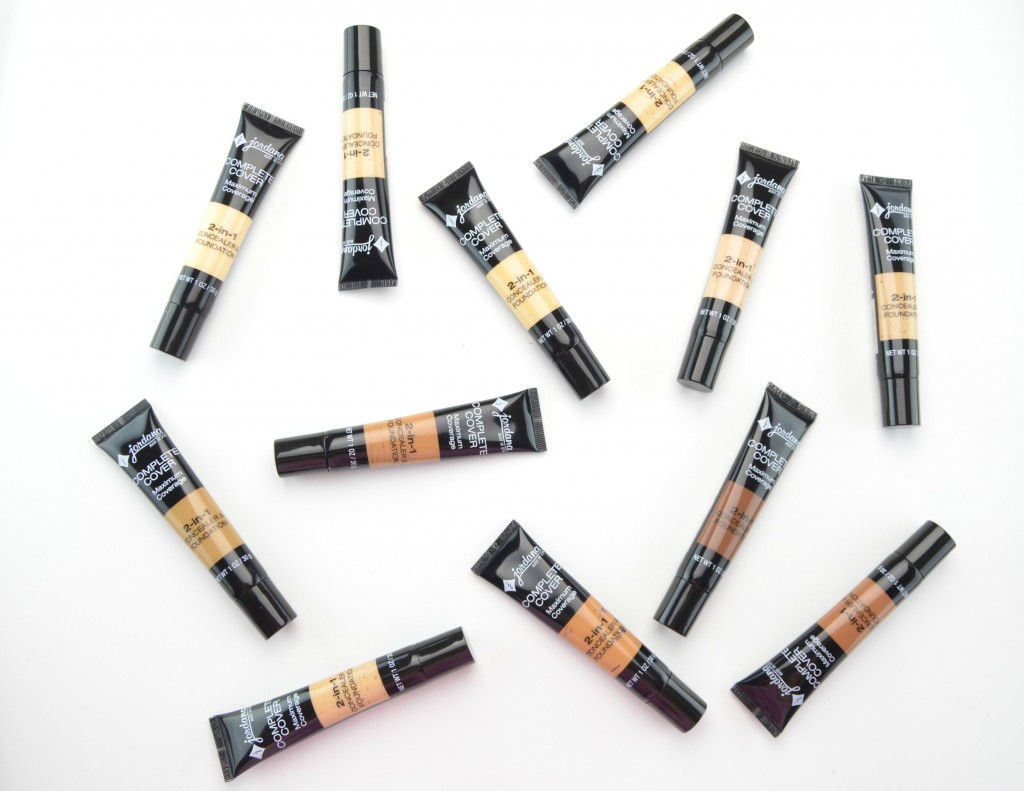 Jordana Cosmetics foundation, Jordana Complete Cover 2-in-1 Concealer & Foundation