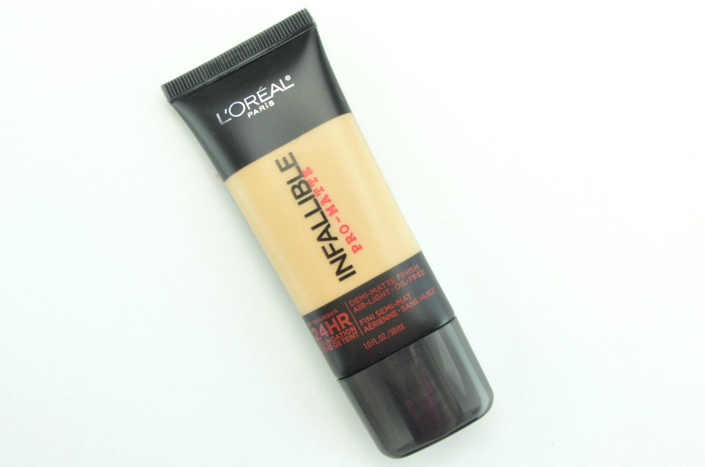 L'Oreal Infallible, L'Oreal Infallible Pro-Matte Foundation, Pro-Matte Foundation