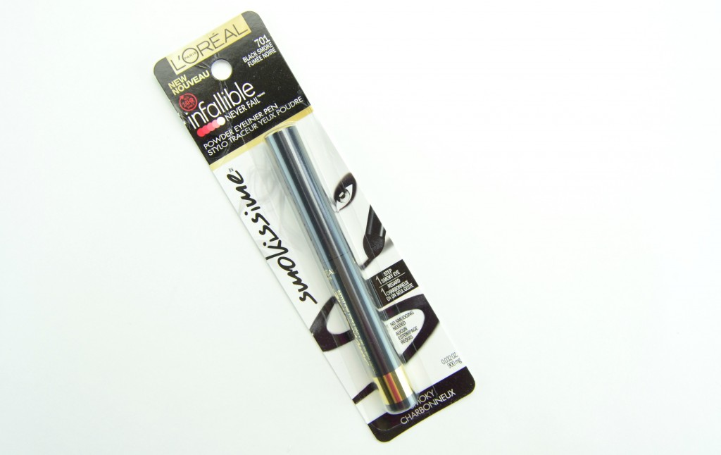 L'Oreal Infallible Smokissime Powder Eyeliner Pen, l'oreal eyeliner, black smoky eyeliner