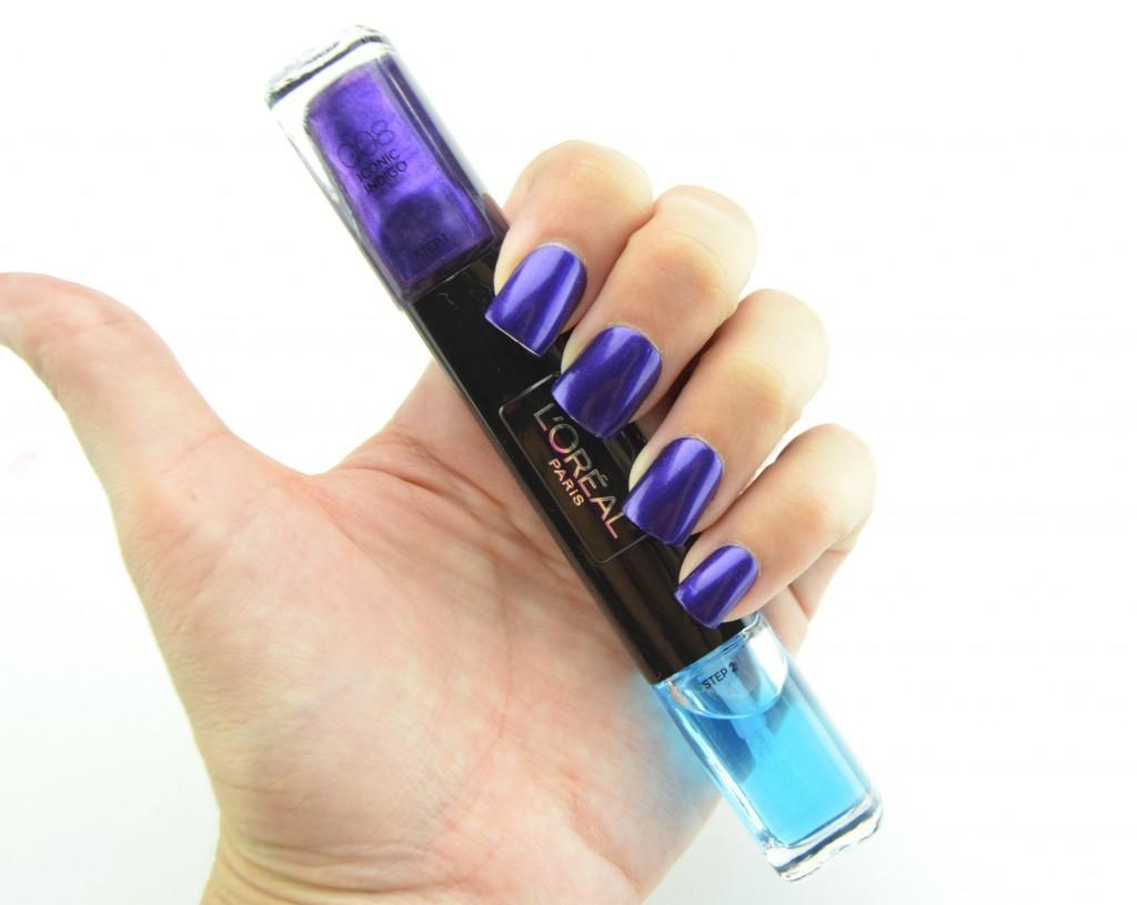 L'Oreal Infallible 2 Step Nailcolour , l'oreal nail polish